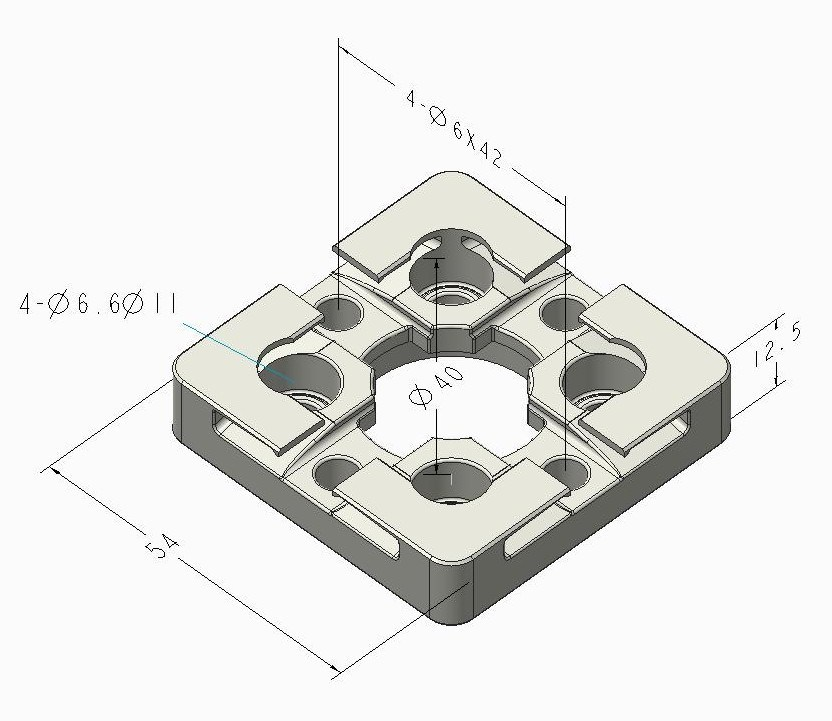3r Centering Plate Compatible with 3r-651.7e