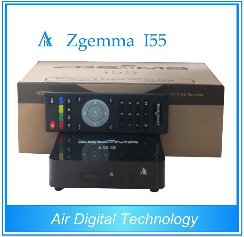 2016 New Best IPTV Streaming Box Zgemma I55 High CPU Dual Core HD 1080P USB WiFi Player