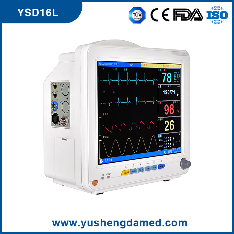 Hot Sale Medical Portable Digital Multi-Parameter Patient Monitor