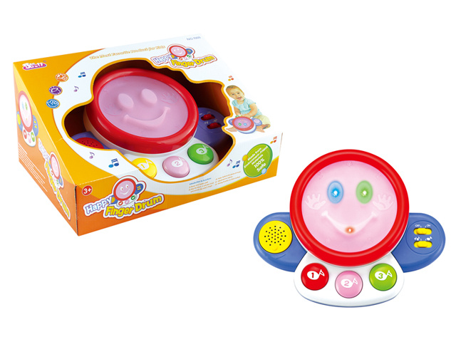 Plastic B/O Drum Musical Toy for Kids (H2162044)