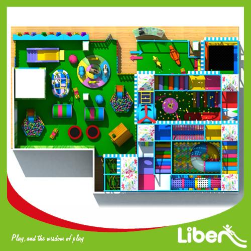 Amusement Park Equipment Large Indoor Playground for Children