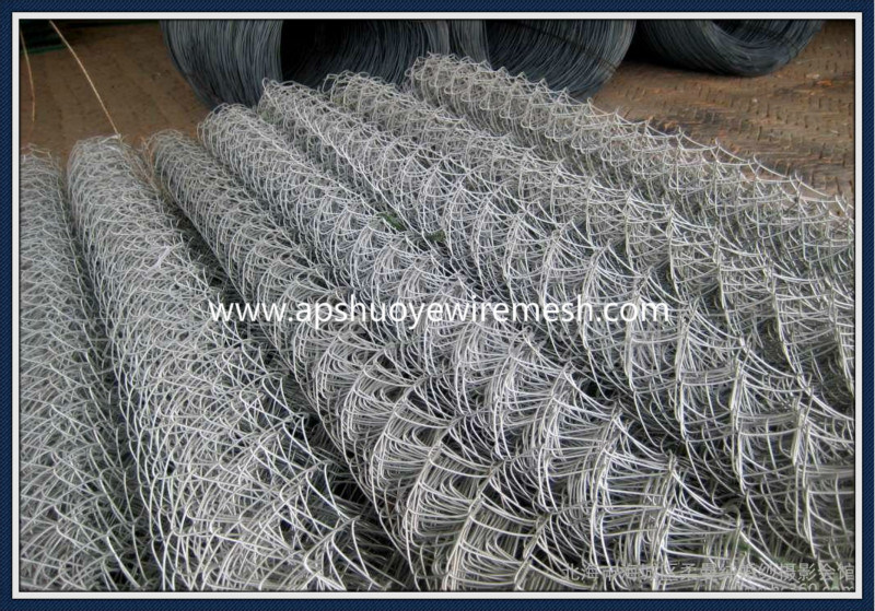 PVC Galvanized Welded Wire Mesh Chain Link Fence for Playground