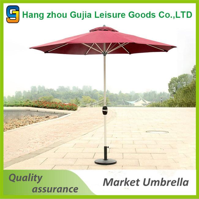 Custom Printed Promotional 4X4 Square Parasol Umbrella