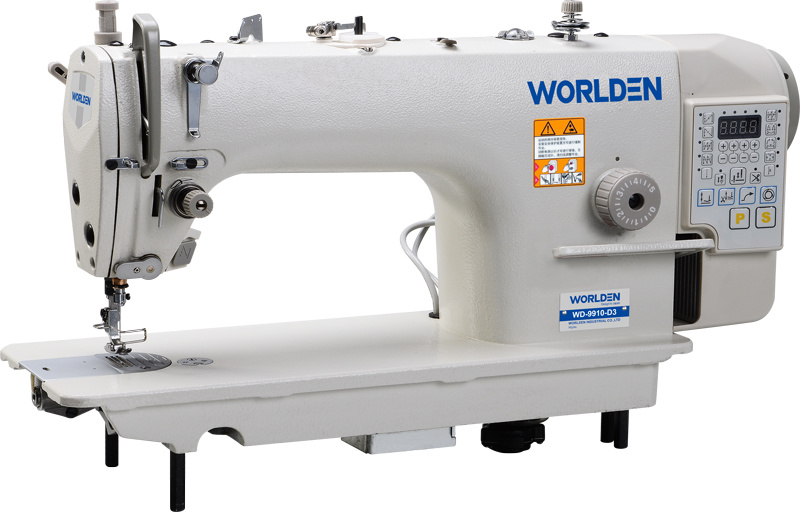 Wd-9910-D3 Highly Intergrated Mechatrinic Computer Direct Drive Lockstitch Sewing Machine