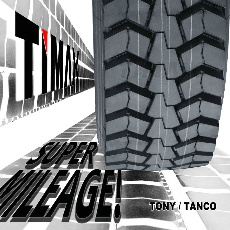 288000kms Timax Commercial Wholesale Heavy Duty TBR Radial Bus Truck Tyre (12R22.5, 295/80R22.5, 315/80r22.5, 12.00R24, 12.00R20)