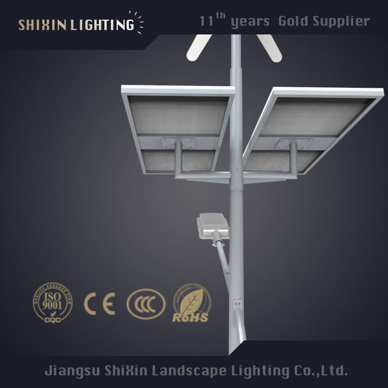 30-120W Solar Wind Power Street Light with CE RoHS New Model