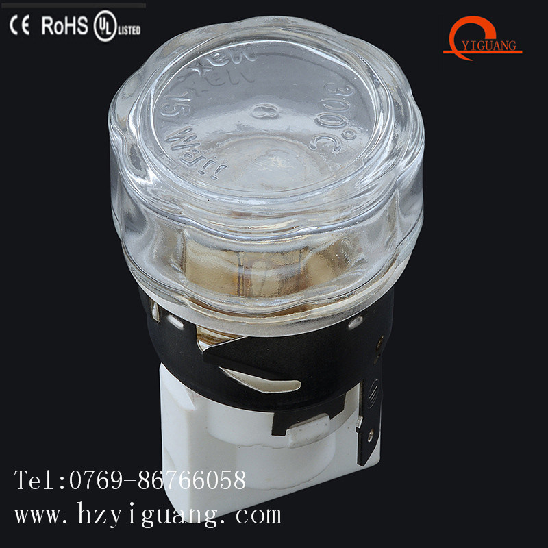 High Temperature Oven Light Lampholder with Ce