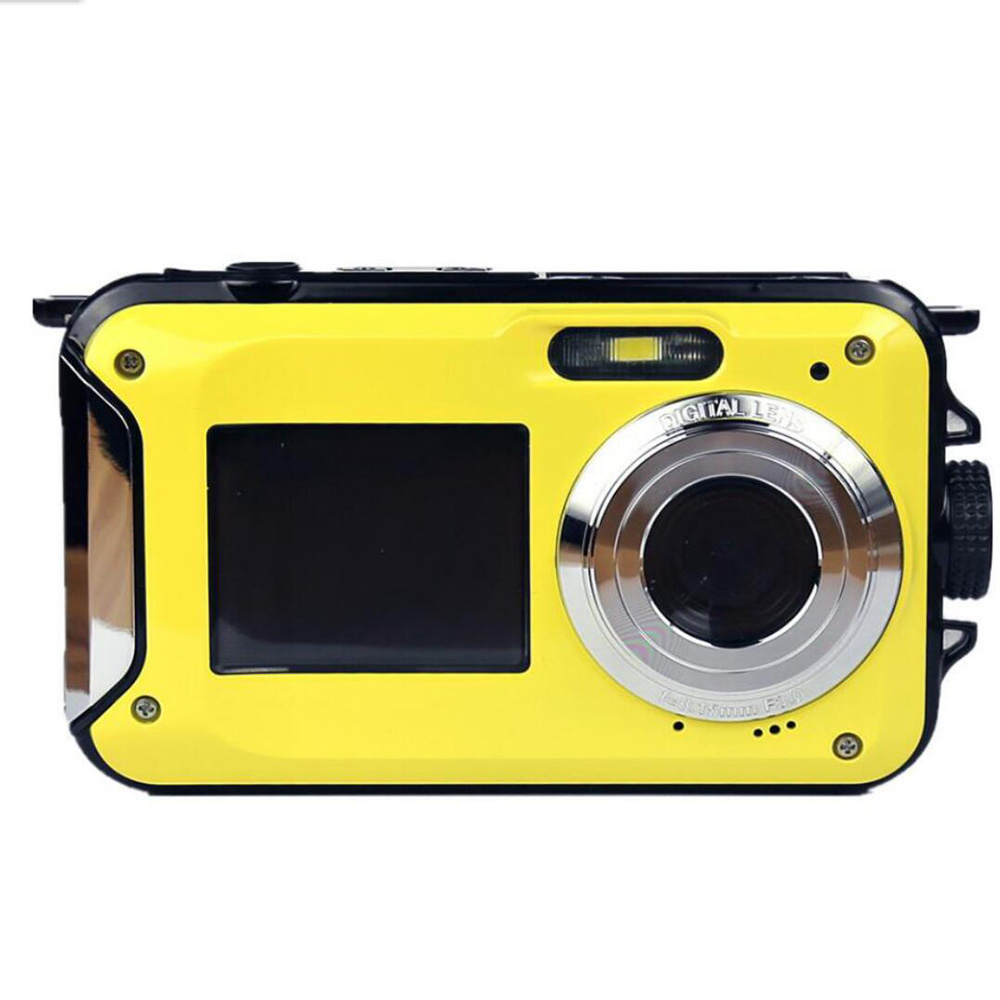 DSC Wp01 Camera Water-Resistant Dual-Screen HD 16X Digital Zoom with 24 Mega Pixels