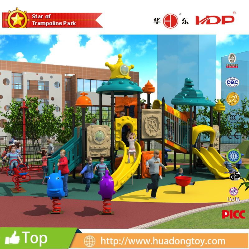 Kids 3-12 Years LLDPE Plastic Outdoor Amusement Park and Kids Outdoor Playground Equipment