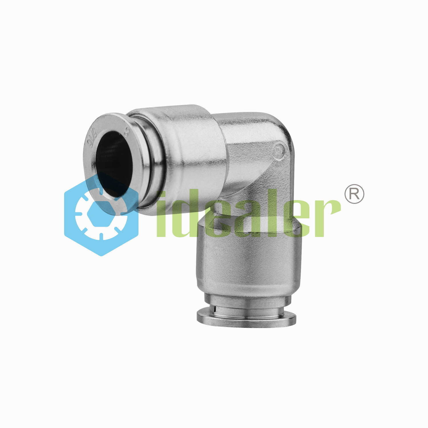 Pneumatic Elbow Stainless Steel Fittings with Japan Technology (SSPUL04)