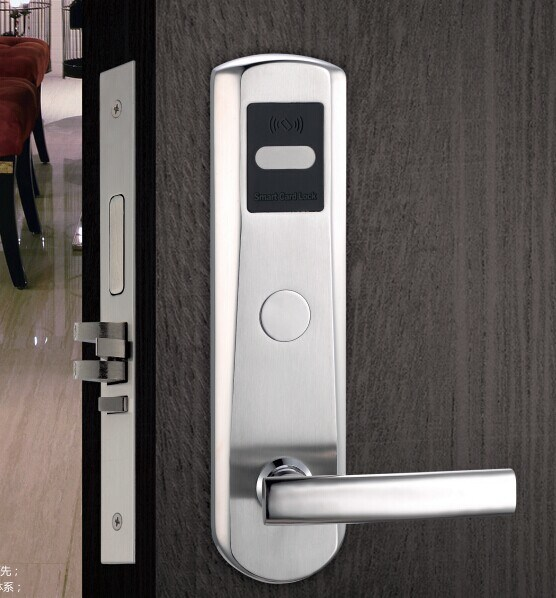 Competitive Price RFID Card Hotel Lock with Free System and Good Service