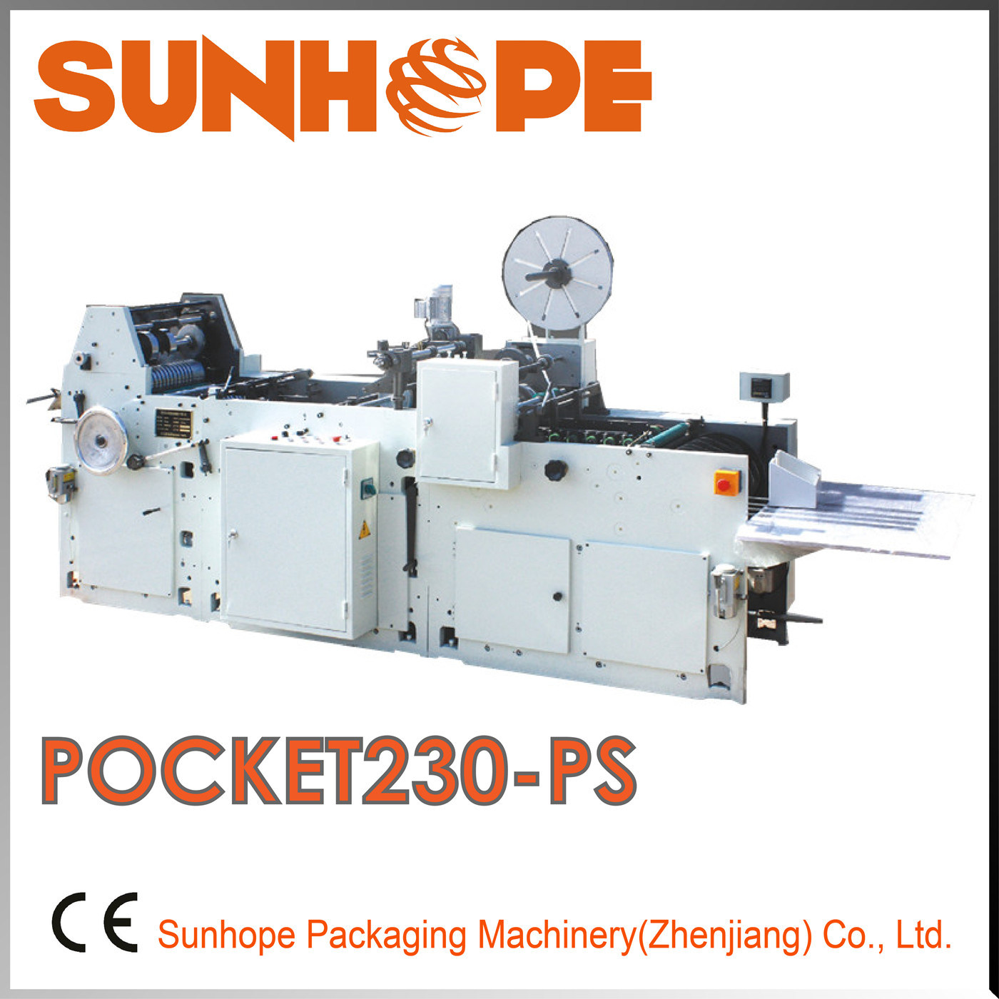 Pocket230-PS Model Pocket Envelope (P&S) Making Machine