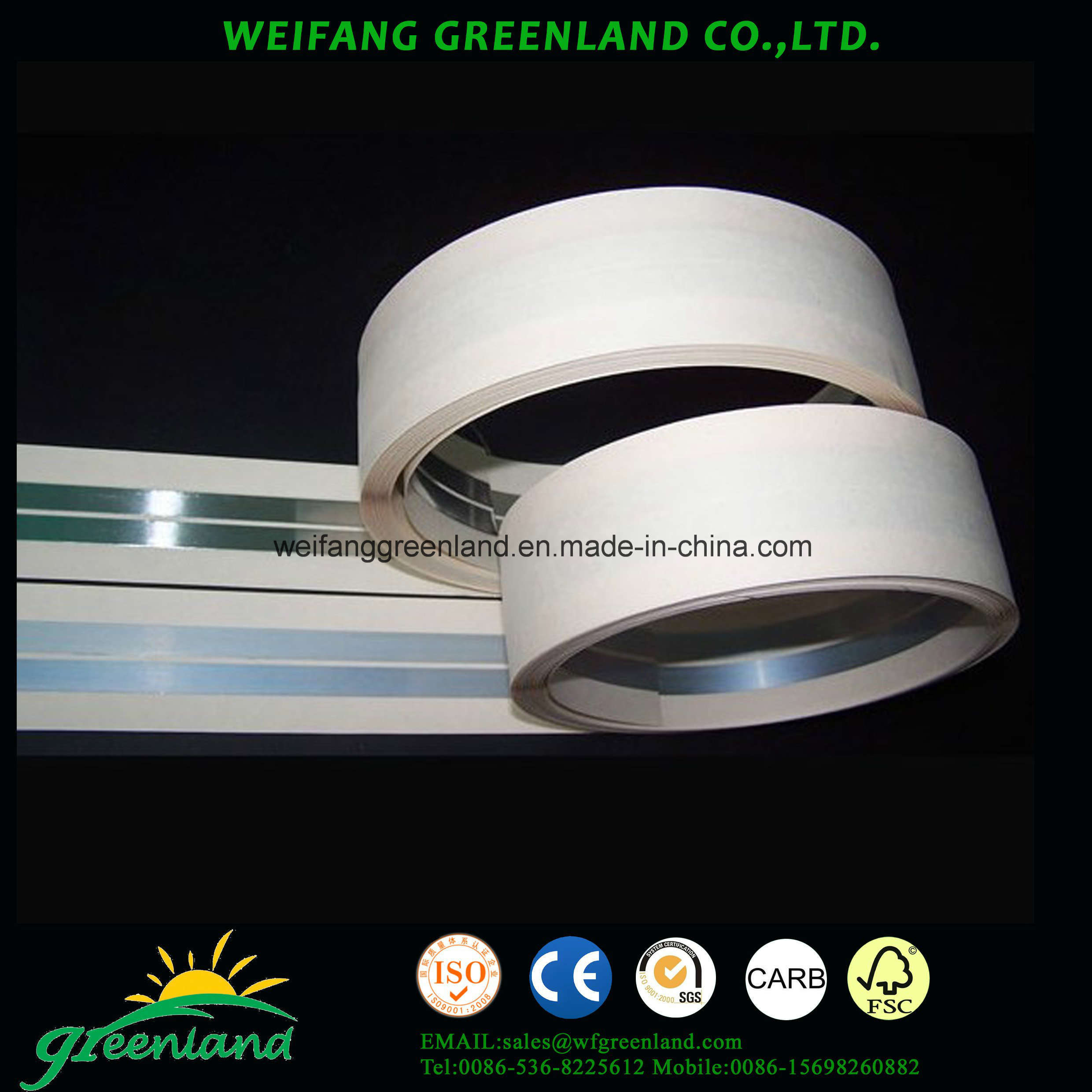 Metal Corner Tape for Gypsum Board Application/Gypsum Board Metal Tapes for Corner