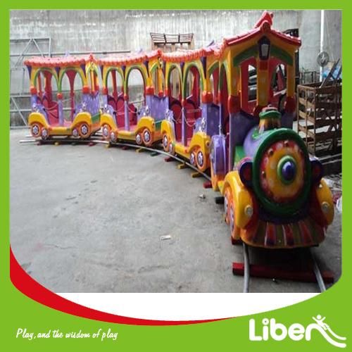 Cheap Amusement Park Kiddie Rides Electric Mini Train for Sale