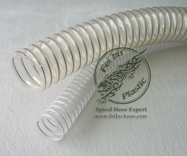 Pvc Tpu Cable : China tpu ducting pu copper plated steel wire pipe