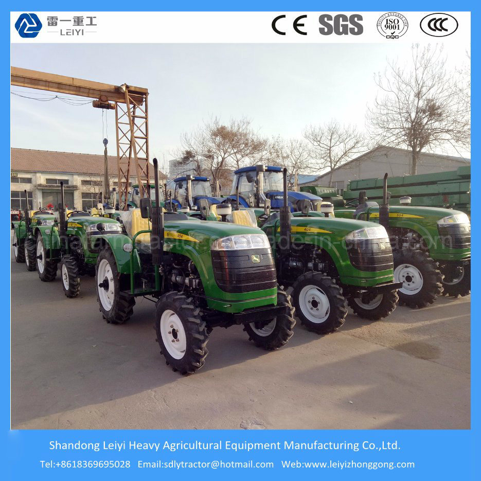 Agriculture Farming 4X4 Mini/Compact/Garden/Paddy Field/Lawn/Small/Full Hydraulic Steering Tractor (40-155HP)