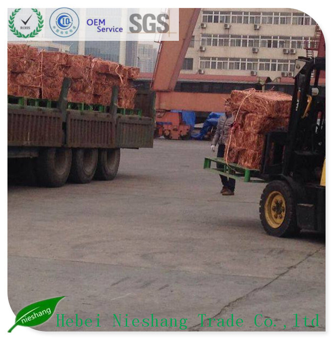 Copper Wire Craps 99.99% Copper Cathodes