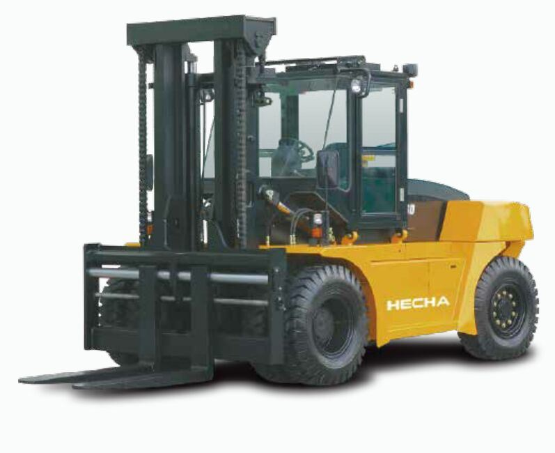 Diesel 12, 14, 16 Ton Forklift Truck with Cummins Engine