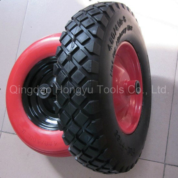 Wheel Barrow Tyre Pneumatic Rubber Wheel