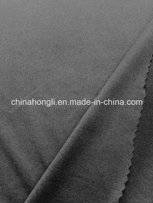 Microfiber Single Jersey 75D Polyester Spandex Knitted Fabric for Sport Wear