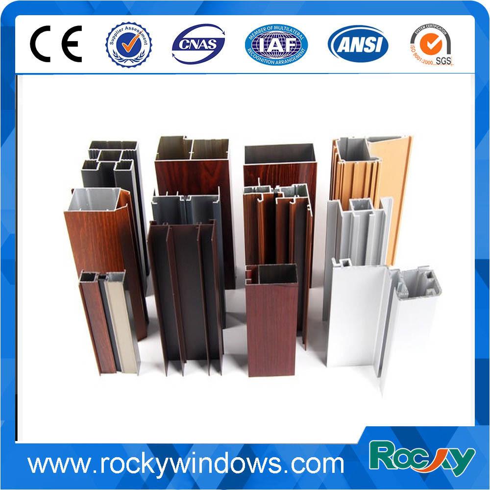 Aluminum Window Frame/Casement Windows/Sliding Window Profile 6000 Series