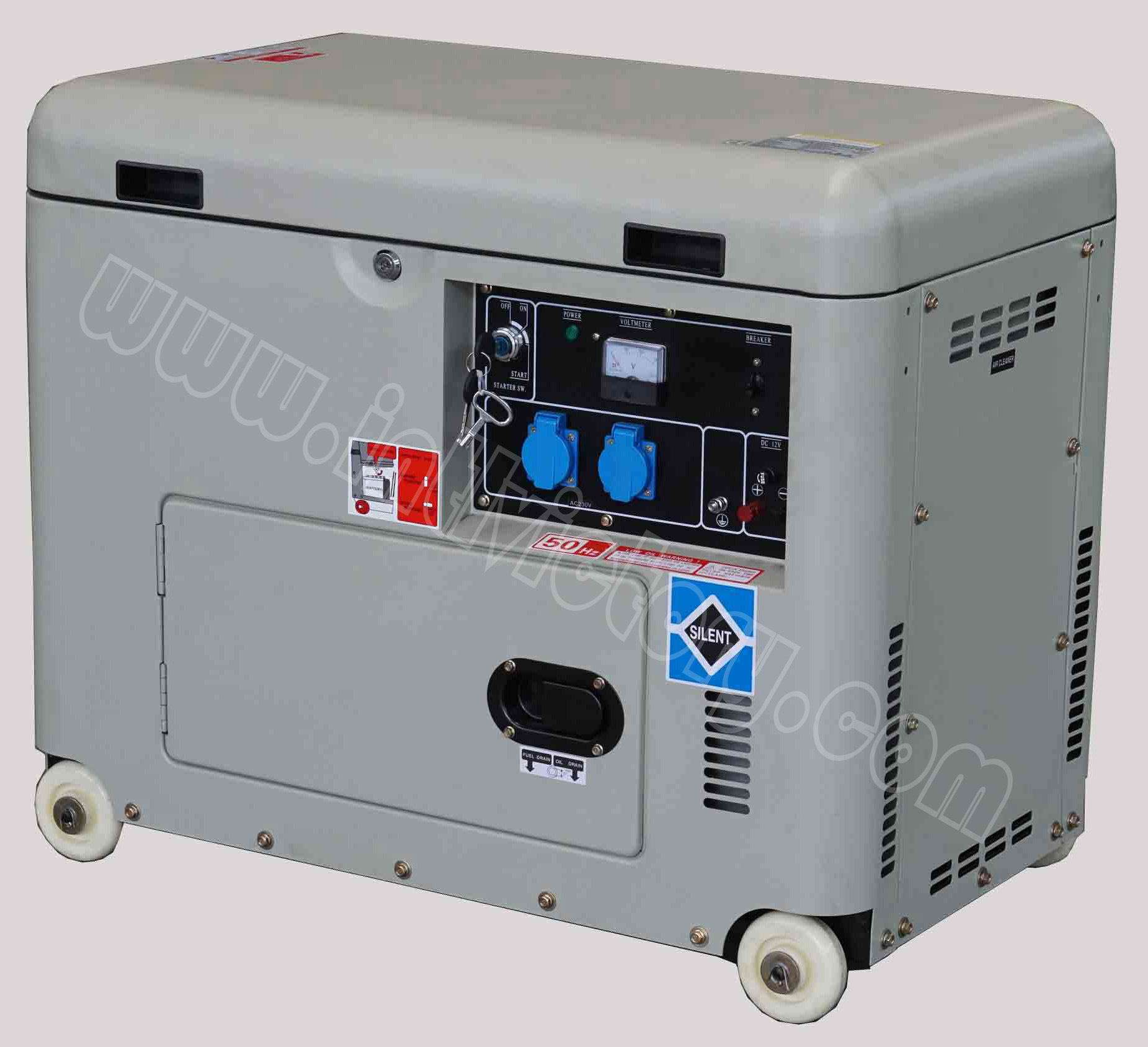 4kVA~6kVA Diesel Soundproof Genset with CE/Soncap/Ciq Certificate