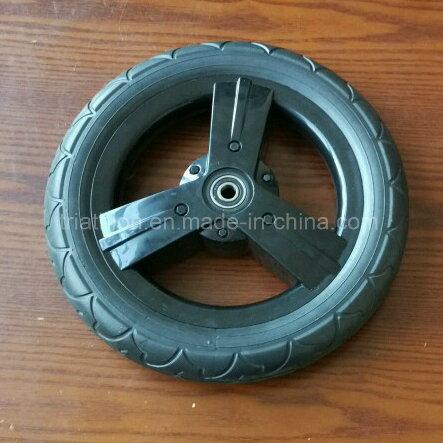 "8"" 9"" 10"" 12"" 14"" 16"" 18"" 20"" 22"" 24"" 26"" Plastic Spoked Wheel with Flat Free Foam Tire"