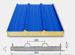 Coloured High Quality EPS Sandwich Panel