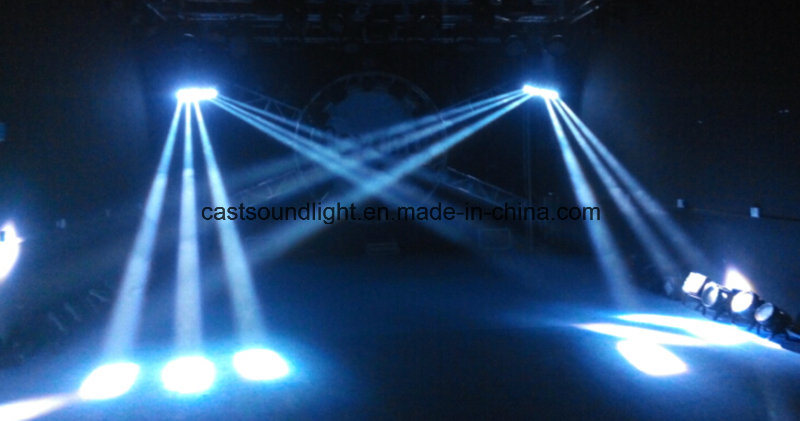 New Type Spider 6PCS RGBW LED Moving Head Beam Light