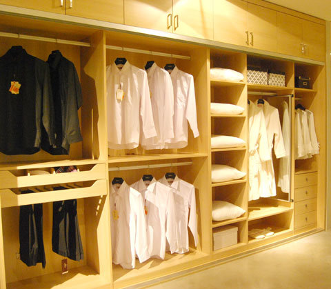 High End Bedroom Wardrobe (ZH-M020)
