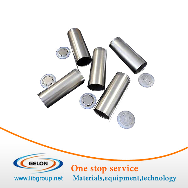 Stainless Steel Battery Cans for 18650/26650, etc with Different Sizes
