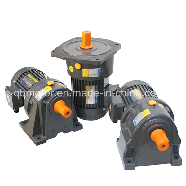 2.2kw 3-Phase AC Gear Reducer Horizontal Vertical Helical Gear Motor