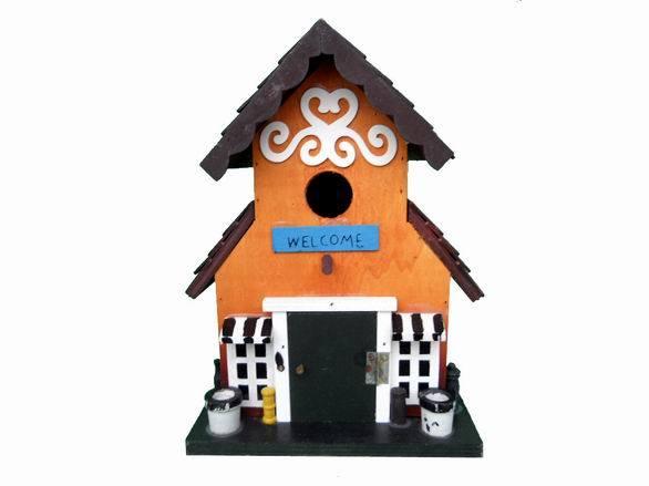 Wooden Bird House (JHA-501261)