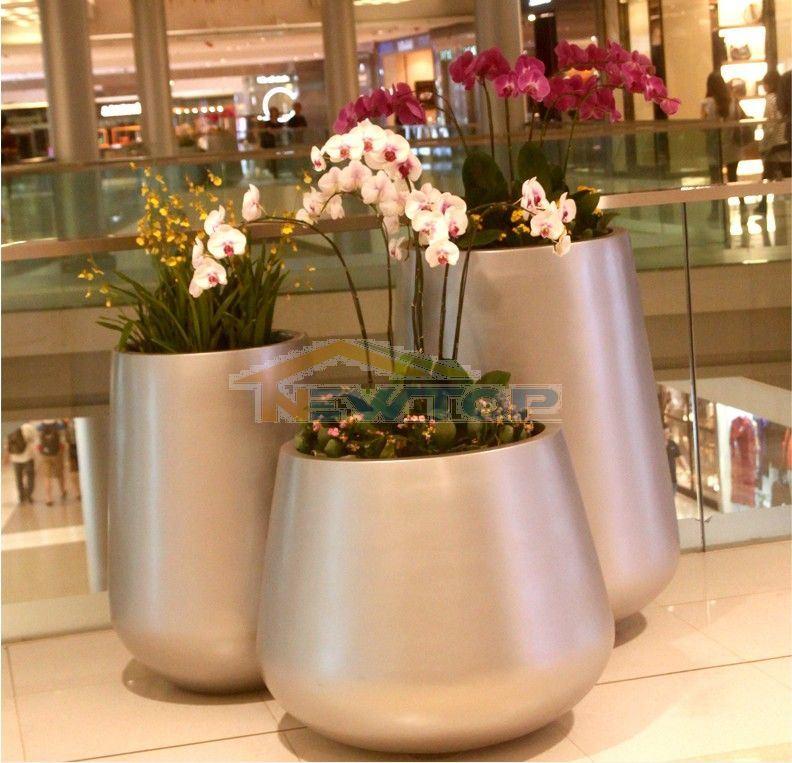 Fiberglass Flower Pots Amp Planters : China fiberglass planters flower pots outdoor decoration