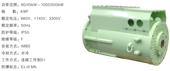Ybsd/AC Motor / Explosion-Proof Three-Phase Asynchronous Motor for Conveyor