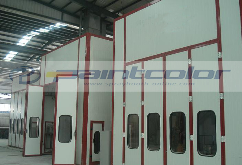12m X 4.5m X 4m Bus Spray Booth