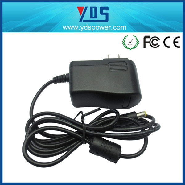 12V 1A Us Wall Plug Adapter