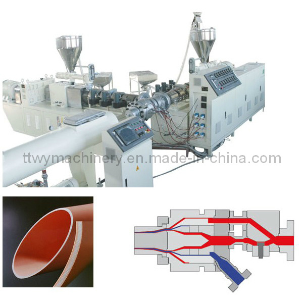 Plastic Pipe Manufacturing Machine for PVC PE PPR Pipe for Sale
