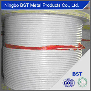 High Quality Coated Steel Wire Rope (6*19 or 7*19)