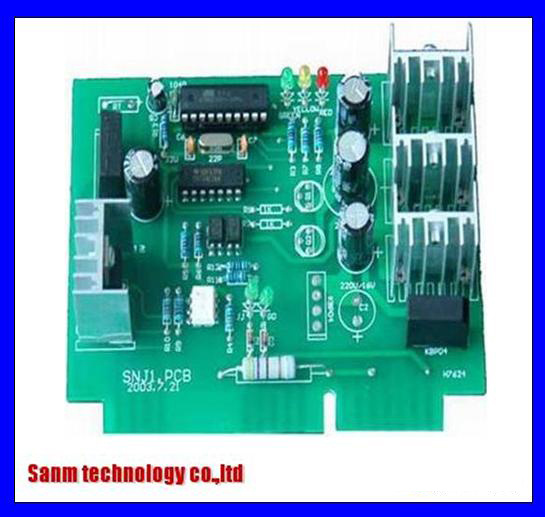 LED Control PCB Board SMT Assembling and Box Builds