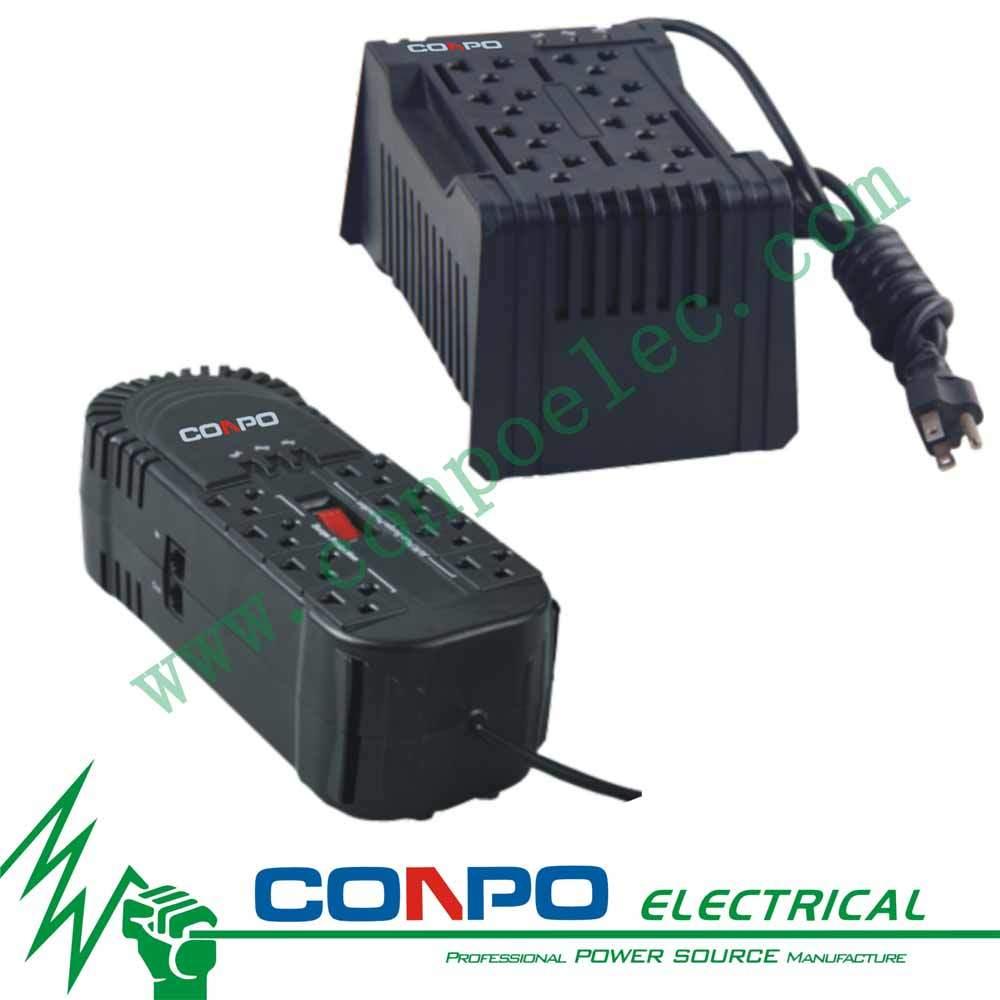 Cr-250va/350va/500va/600va Relay USA Socket Automatic Voltage Regulator/Stabilizer