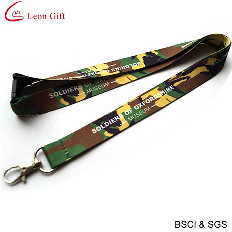 Custom Polyester Sublimation Lanyard for Gift (LM1154)