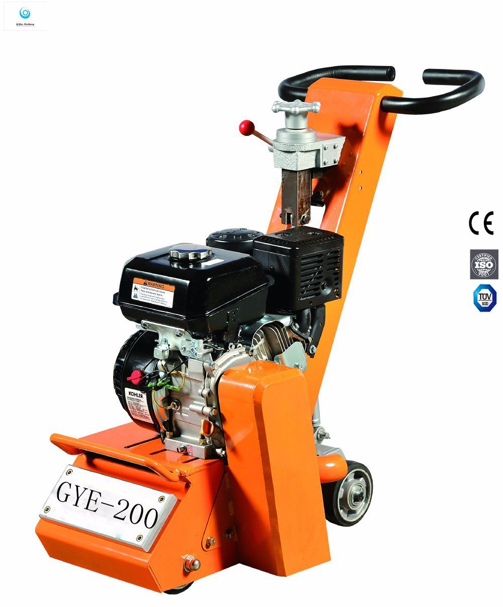 Honda Gx160 Concrete Floor Scarifier with Anti-Vibration Handle Design Gye-200