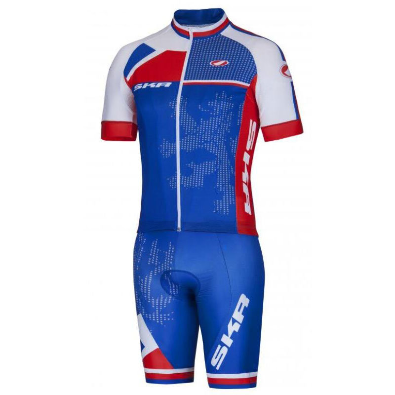 Custom Made Cycling Uniform Cycling Wear Cycling Jersey and Shorts with Low MOQ