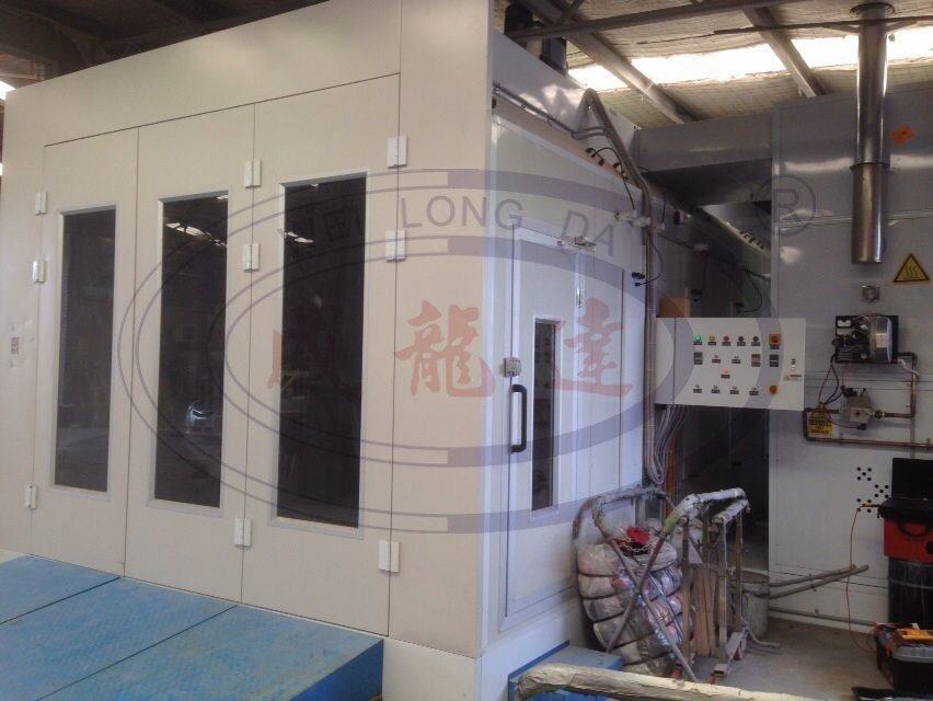 Wld 9000 Luxury Type Machiery Spray Booth (CE) (TUV)