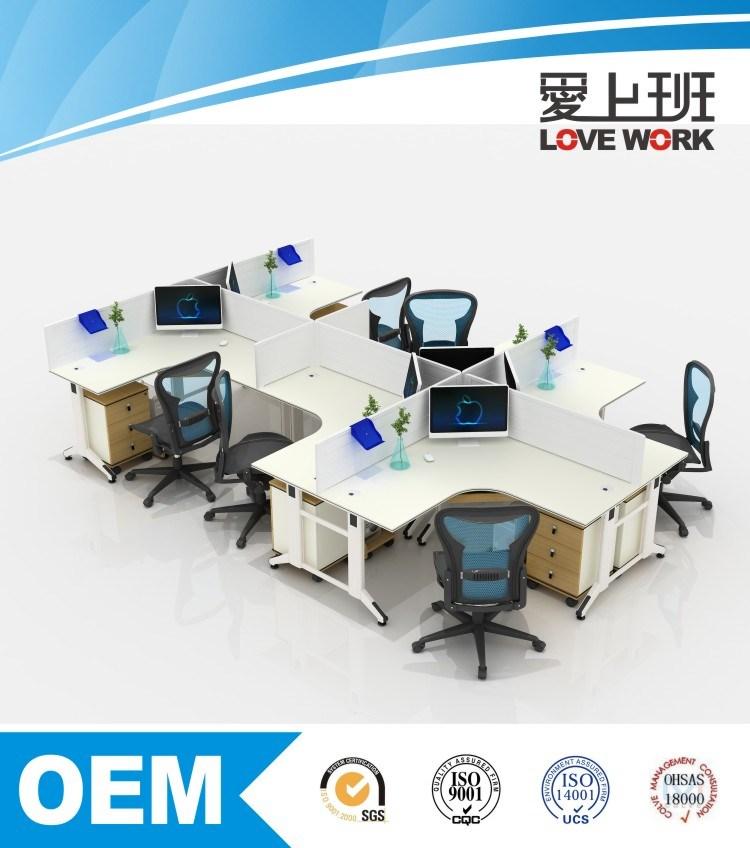 Modular Top Design Customize Office Workstation (FM-6L)