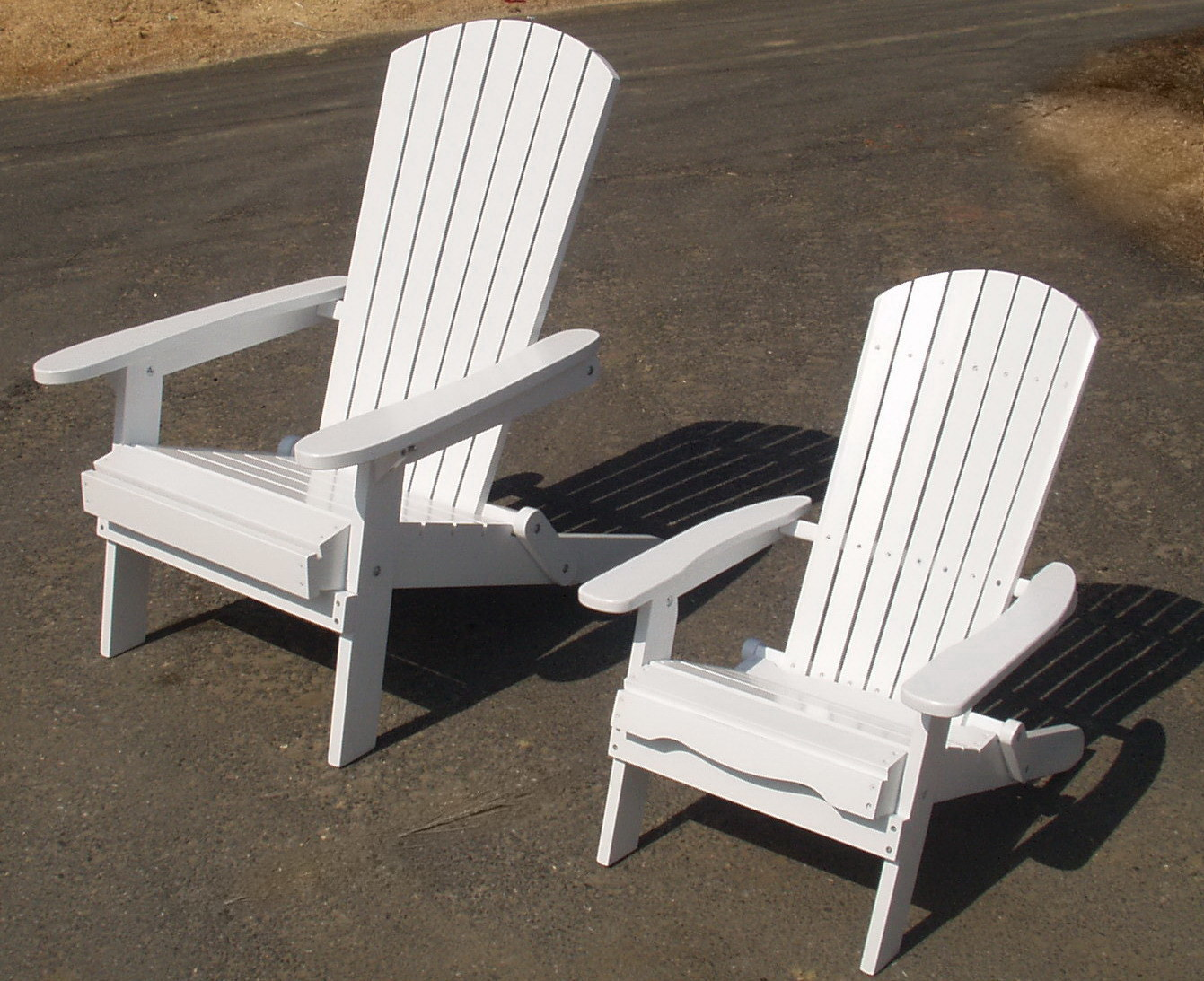 Classic Cedar Adirondack Chair Handmade by Chinese Cedar Wood