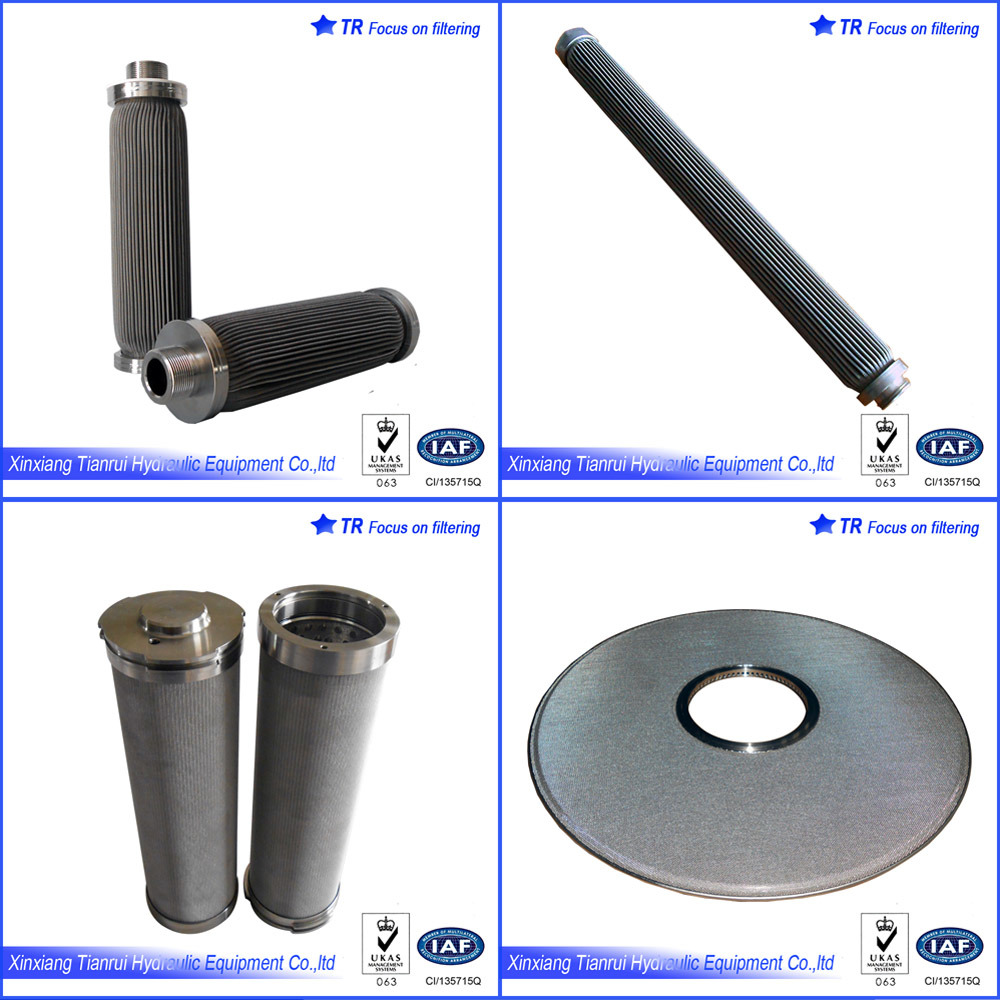304 Stainless Steel Sintered Felt Polyester Melt Filter