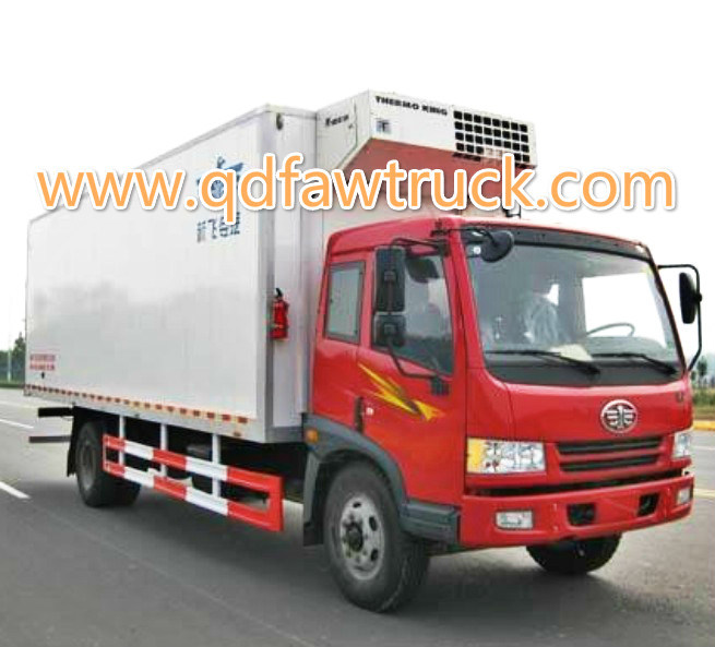 Refrigerator Truck/Cooler Van for Fresh Vegetable and Milk
