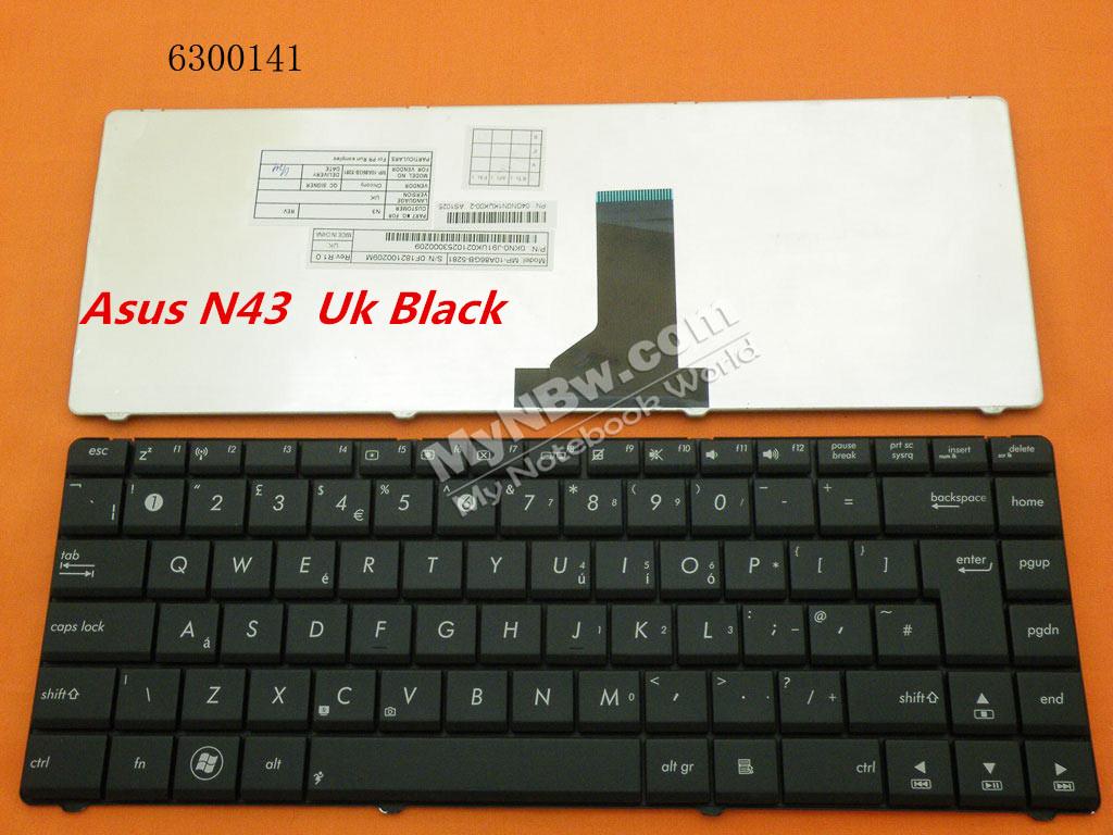 Laptop Keyboard/Computer Keyboard/Bluetooth Keyboard for Asus X42j Us Layout